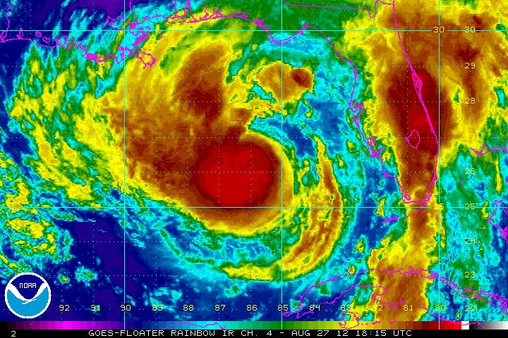 Isaac Takes Aim On The Northern Gulf States
