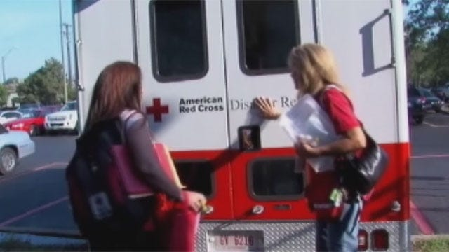 Oklahoma Red Cross Volunteers Head South To Prepare For Isaac