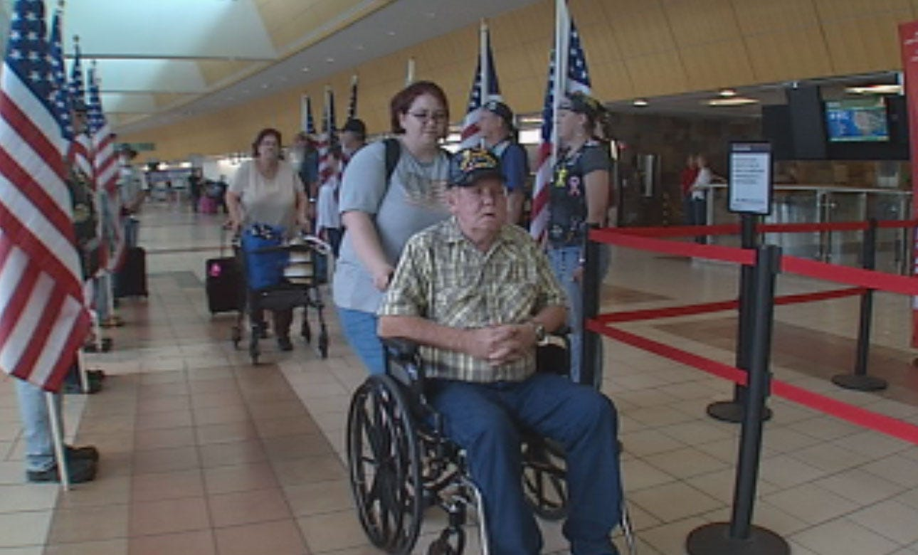Oklahoma Vietnam Veteran's Dying Wish Granted