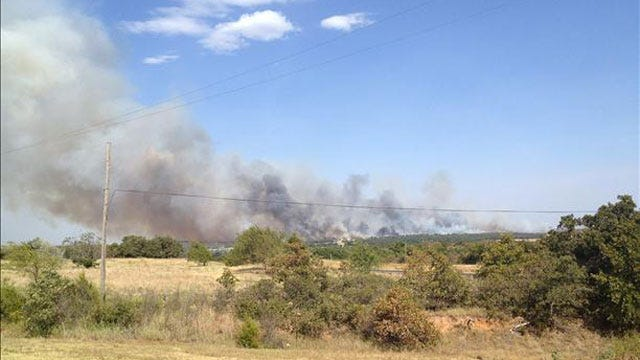 Numerous Homes Destroyed As Grass Fires Erupt In Parts Of Oklahoma