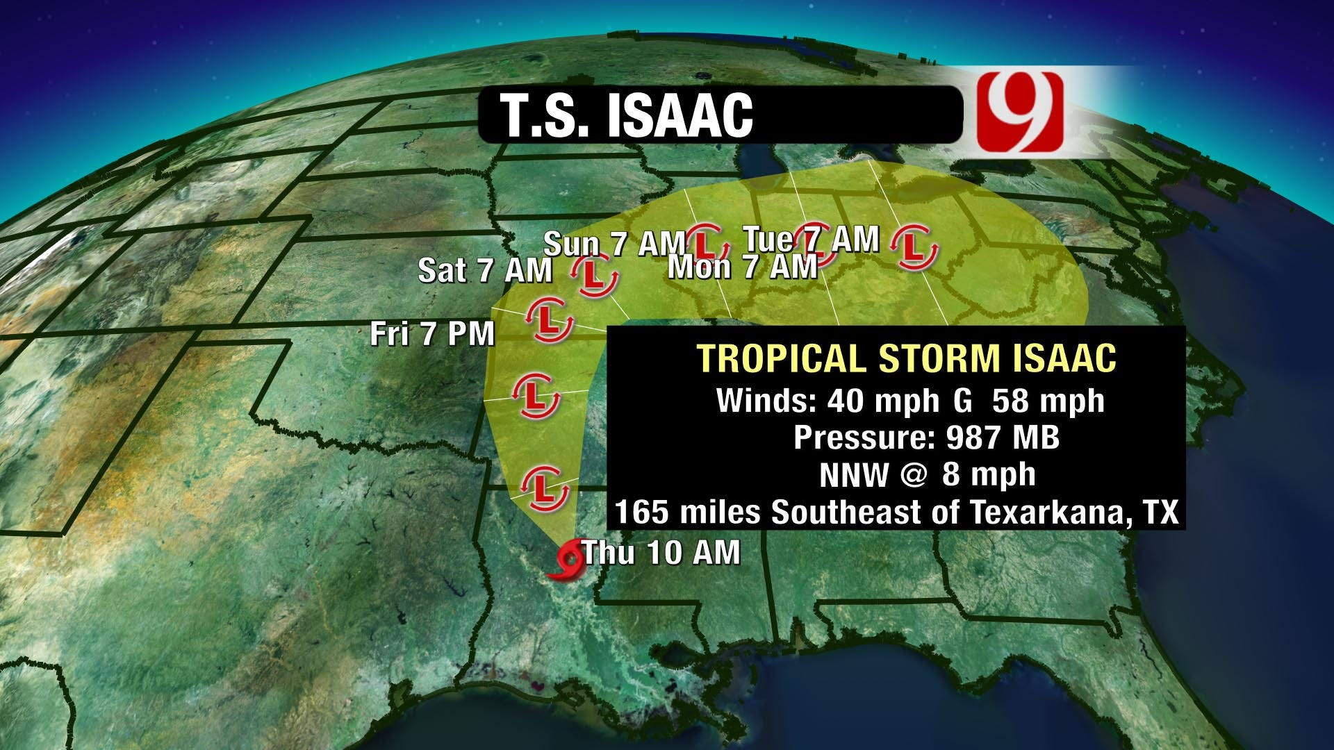 Is Isaac Coming to Town?