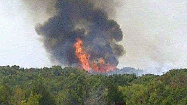 Firefighters Extinguish Wildfire In Payne County