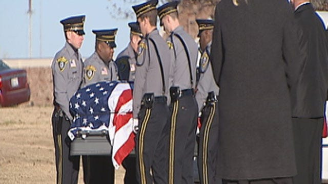 OKC Police Officer Killed In Crash Laid To Rest