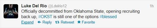 QB De-Commits To Cowboys