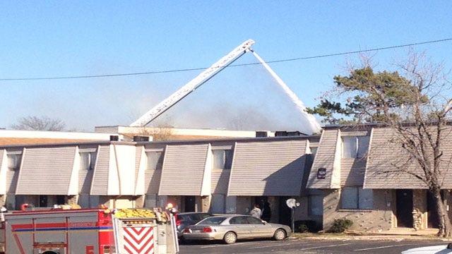 Crews Battle Fire At Midwest City Apartment Complex