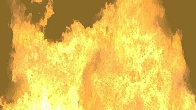 Fire Sweeps Through Midwest City Home
