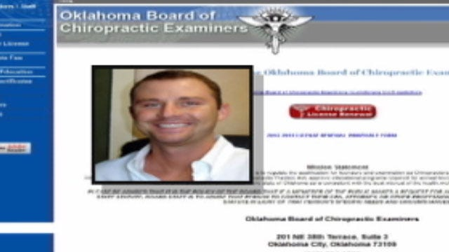 OKC Chiropractor Accused Of Propositioning Patient