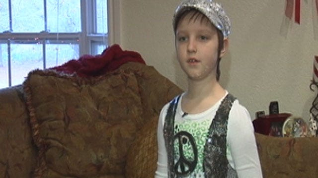 8-Year-Old Leukemia Patient Says Blood Donors Saved Her Life