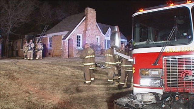 Transient May Have Sparked Suspicious OKC House Fire