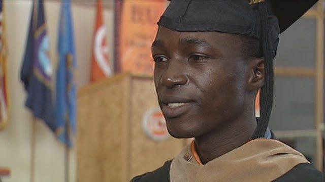 Ugandan Men Earn Master's Degrees From ECU