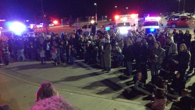 Candlelight Vigil Hosted In Chickasha For Connecticut School Shooting Victims