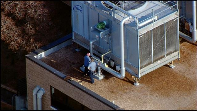 Chemical Leak At Midwest Regional Hospital In MWC