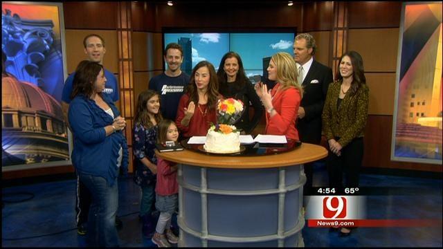 News 9's Christina Eckert Says Goodbye