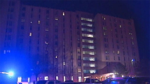 Fire At OKC High Rise Forces Evacuations
