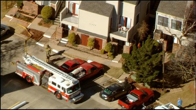 Crews Respond To Fire At Northwest OKC Condos