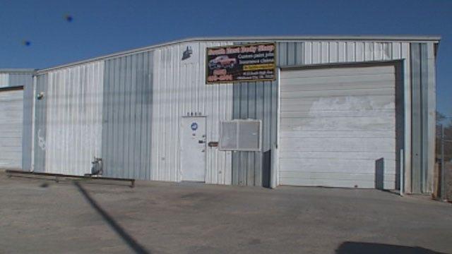 Narcotics Agents Make Big Pot Bust At SW OKC Body Shop