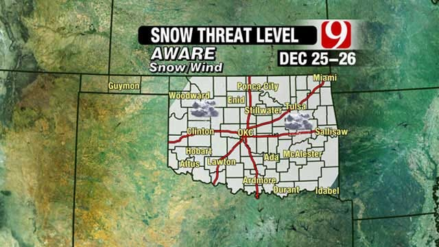 News 9 Weather Team: Christmas Day Snow Storm Update