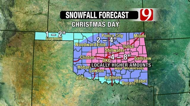 Christmas Day Forecast: Be Ready For Blizzard Conditions