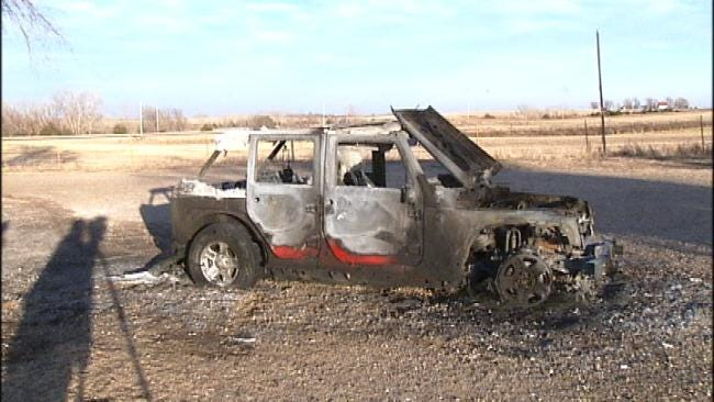 Woodward Mail Carrier Saves Christmas Mail When Jeep Catches Fire