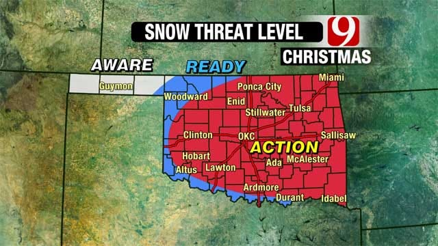 News 9 Weather Team: Update On Christmas Day Snow Storm