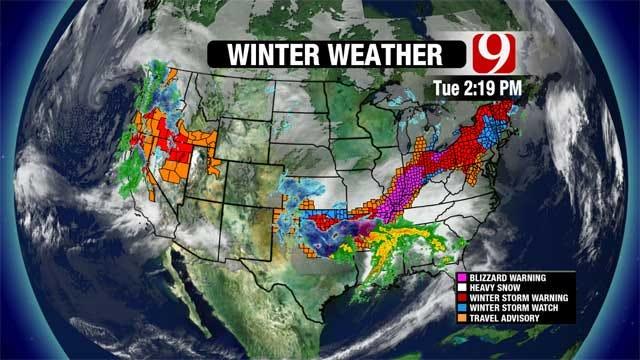 Update On Oklahoma Winter Storm