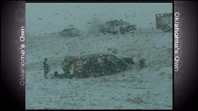 Winter Storm Causes Slick, Dangerous Roads Across Oklahoma