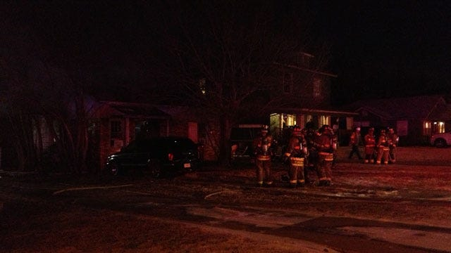 Fire Crews Extinguish House Fire In NW OKC