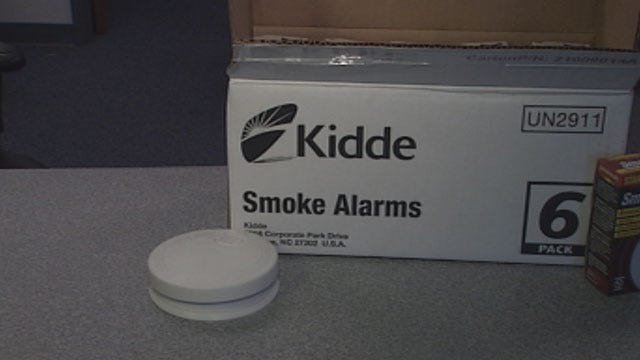 OK Fire Officials Stress Importance Of Working Fire Detectors