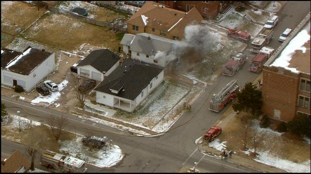 Crews Knock Down Fire At NW OKC House