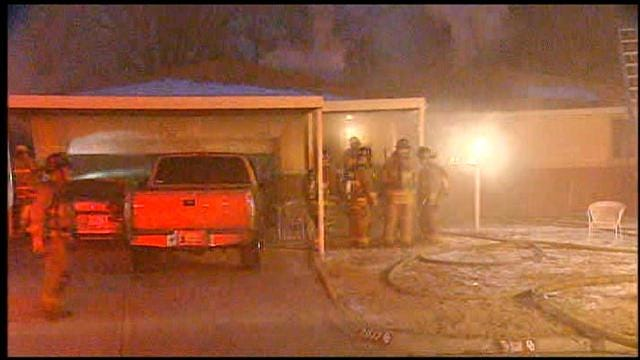 Crews Battle Fire At SW OKC House For Second Time In Two Days