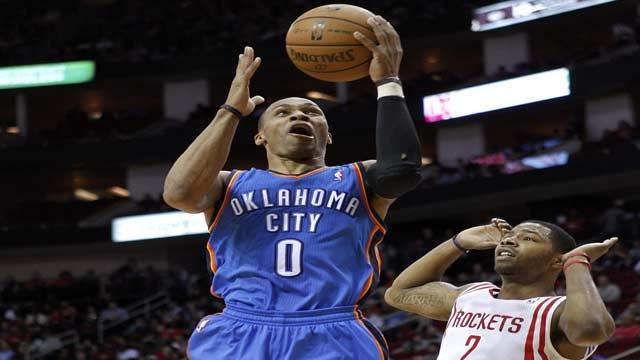 Deja Vu All Over Again: Thunder Crushes Harden, Rockets