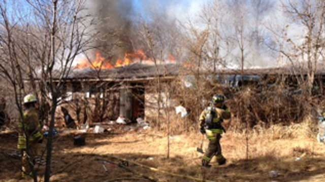 Firefighters Put Out House Fire In Piedmont