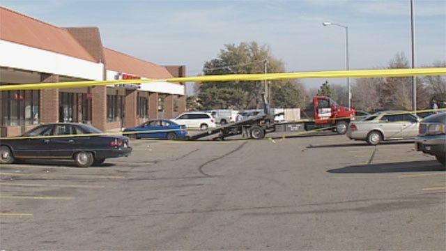 Neighbor Responds To Triple Shooting Outside NW OKC Event Center