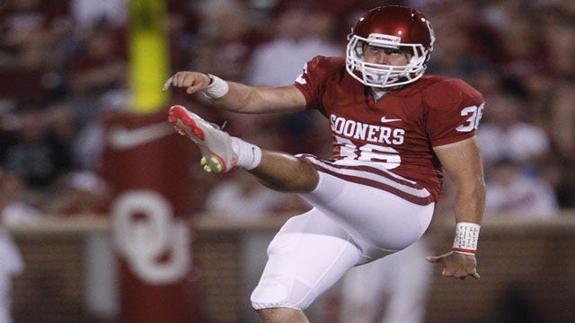 OU's Tress Way Named Big 12 Special Teams Player Of Week