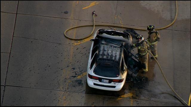 Child Escapes Burning Car In Northwest OKC