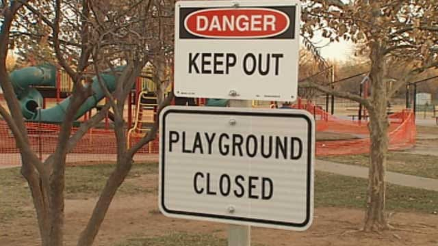 OKC Playgrounds Closed Longer Than Expected Due To Safety Concerns