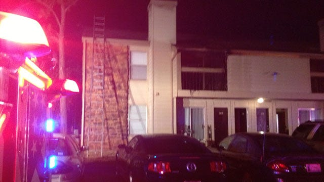 Cigarette Cause Of Fire At NW OKC Apartment Complex