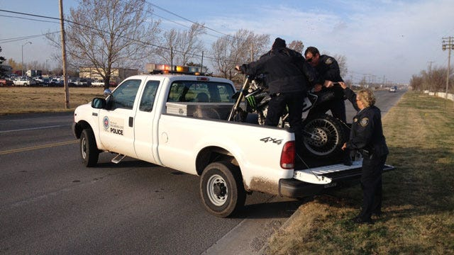 Motorcyclist Leads Police On Chase, Crashes In NW OKC