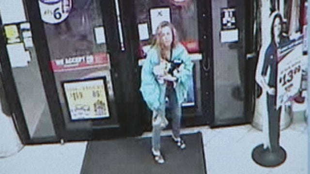 Police: Woman Uses Scissors To Rob OKC Gas Station