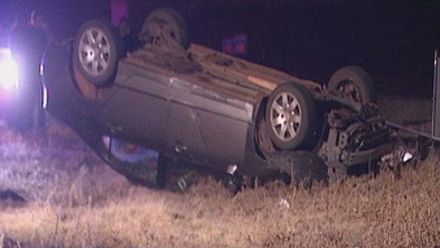 Woman Injured After Crashing Car In Edmond