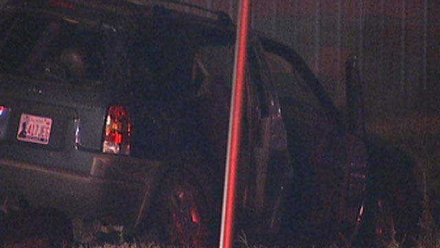High-Speed Car Race In SW OKC Ends In Crash; Driver Injured