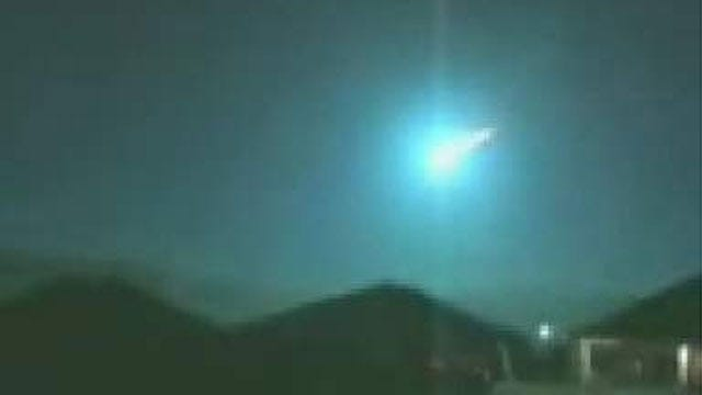 FAA Confirms Meteor Sighting In Oklahoma