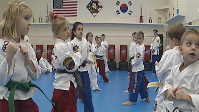 Norman Martial Arts Instructor Teaches Verbal Self-Defense To Kids