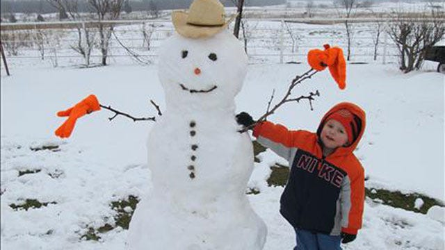News 9 Viewers Share Their Fun-In-The-Snow Photos