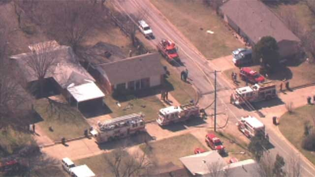 Firefighter Injured, Dog Found Dead In NW OKC House Fire