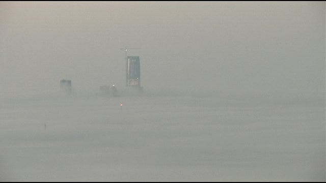 Freezing Fog Leads To Dangerous Road Conditions In Metro