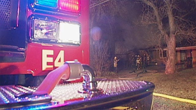 Crews Extinguish Fire At Vacant Midwest City House