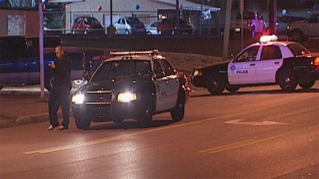 Car Strikes Pedestrian In Northwest OKC