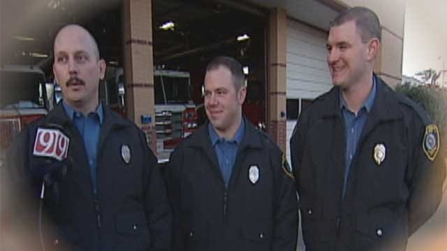 OKC Firefighters Back At Work Following Fall During Roof Collapse