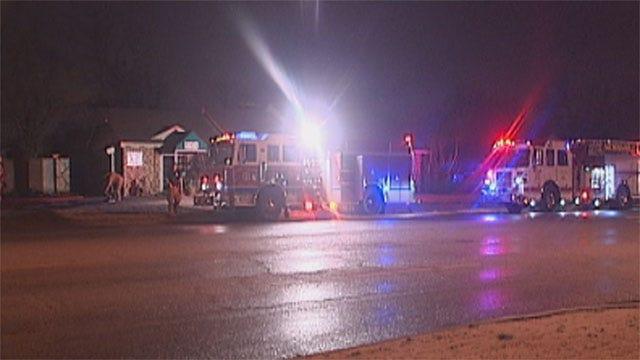 Fire Crews Extinguish Overnight Fire At OKC Nail Salon